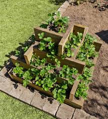 How To Make Planters by How To Make A Tiered Box Planter Better Homes And Gardens