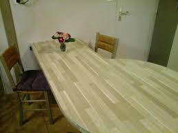 table de cuisine sur mesure table cuisine sur mesure table de suisine coulissante racaliser un