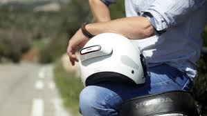 Motorcycle Helmet Lights Smart Helmet Light Detects Braking And Sends Alerts In Case Of