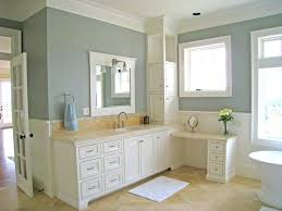 white vanity bathroom ideas simple bathroom interior in light blue color with white cabinet