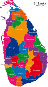 Sri Lanka Flag Lion Sri Lanka Map Blank Political Sri Lanka Map With Cities