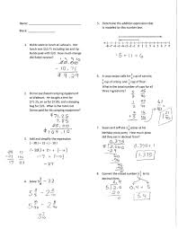 6th grade math test with answers 28 images 14 best images of