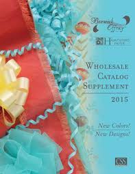 offray ribbon wholesale 2015 berwick offray wholesale wholesale catalog supplement by