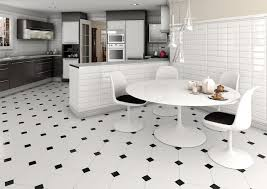 black and white kitchen floor dzqxh