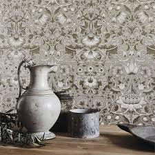 morris u0026 co wallpaper pure lodden gilver gold