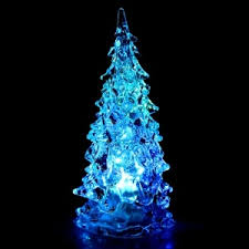 white color change led lights mini tree rosegal