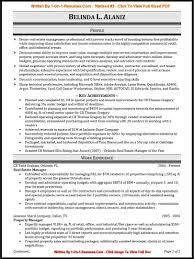 Resume Career Summary Example by Professional Qualifications In Cv