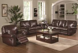 Leather Recliner Sofa Set Deals Brown Leather Sofa And Loveseat Set Teachfamilies Org