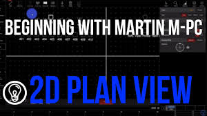 beginning with martin m pc 2d plan view youtube