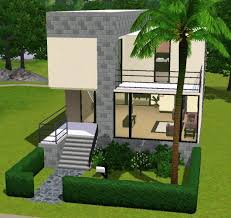tiny modern home mod the sims a small modern home