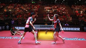 table tennis doubles rules table tennis mixed doubles added to tokyo 2020 international table