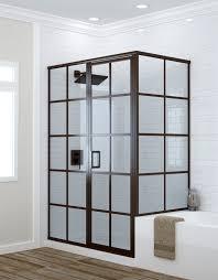 Agalite Shower Doors by Grid Shower Doors U0026 Linea 34