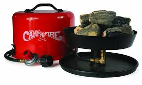 Tiny Red Bugs On Patio by Amazon Com Camco U201clittle Red Campfire U201d 11 25 Inch Portable