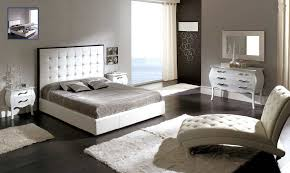 White Leather Bedroom Furniture Leather Headboard Bedroom Set Home Designs Ideas