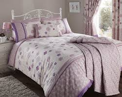 luxury fleur duvet quilt cover king bed floral flowers bedding
