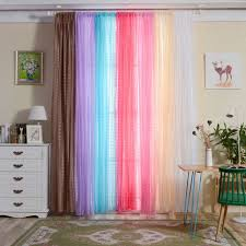 online shop simple design tulle curtains for living room balcony