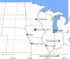 map usa iowa williams iowa ia 50271 profile population maps real estate