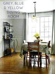 Yellow Dining Room Ideas Blue Grey Dining Room Walls Conceptcreative Info