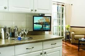 kitchen television ideas the cabinet kitchen tv with inspiration ideas kitchen tv