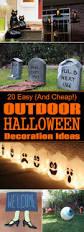halloween halloween easy and cheap diy outdoor decoration ideas