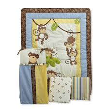Monkey Crib Bedding Set by Airplane Crib Bedding Sets For Baby Boys Cheap Crib Bedding Sets