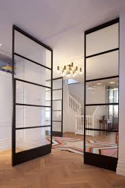 gl sliding room dividers large sliding gl closet doors wall ideas