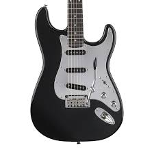 squier standard stratocaster black and chrome products