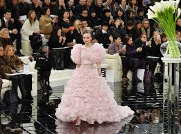 lily rose depp is the chanel couture bride of our dreams instyle com