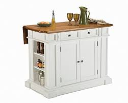 home styles kitchen islands amazon com home styles 5002 94 kitchen island white and