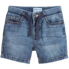 boys light blue tie boys light blue denim shorts childrensalon