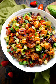 salad pasta smoky shrimp pasta salad with chipotle honey vinaigrette host the
