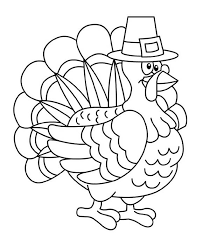 thanksgiving day turkey trot chicago coloring page