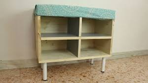 How To Build A Shoe Rack Bench How To Make A Shoe Storage Bench