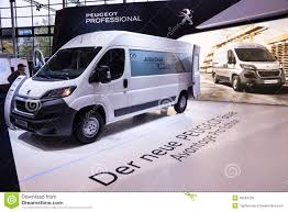 peugeot van boxer new peugeot boxer van editorial image image of french 45024230