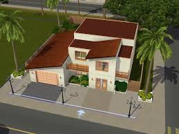 Modern House Floor Plan Sims 2 Modern House Floor Plan House Interior