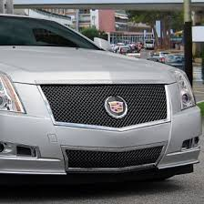 cadillac cts v grill cadillac cts custom grilles billet mesh cnc led chrome black