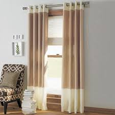 window treatments modern living room curtains drapes brown and