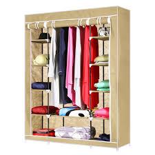 Rubbermaid Complete Closet Organizer Homdox 52 U201dportable Closet Storage Organizer Wardrobe Clothes Rack