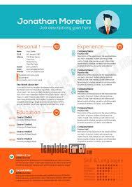 Illustrator Resume Templates 82 Best Template Cv Infografica Gratis Images On Pinterest Free