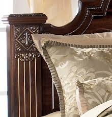 king poster bedroom set gabriela king poster bed by ashley home gallery stores