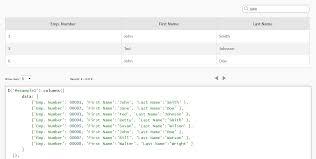 convert json to html table jquery convert json to grid plugin columns javascript html5