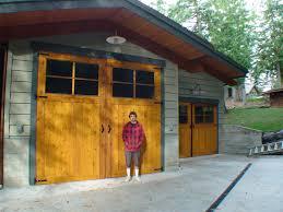 wood composite garage doors carriage door non warping patented honeycomb panels and door cores