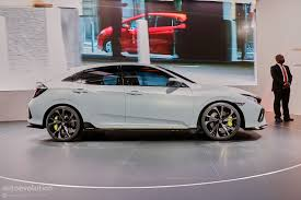honda civic modified white 2017 honda civic hatchback previewed by concept in geneva