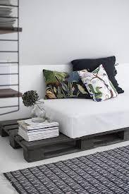 faire un canapé avec un lit 1001 idées comment fabriquer un lit avec des palettes