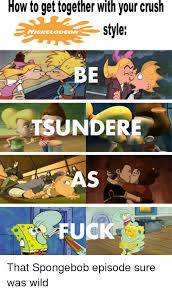 Nickelodeon Memes - how to get together with your crush style nickelodeon ttsunderea