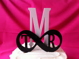 infinity cake topper infinity wedding cake topper made in usa ships from usa