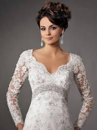 beautiful wedding dresses with sleeves cherry marry