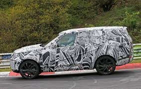 discovery land rover 2017 interior 2017 land rover discovery hits the nurburgring interior spied