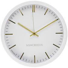 Design Clock by Amazon Com Scandinavian Design Silent Wall Clock Non Ticking