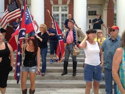 Desecrating The Flag Group Intending To Burn Confederate Flag Comes To Brooksville